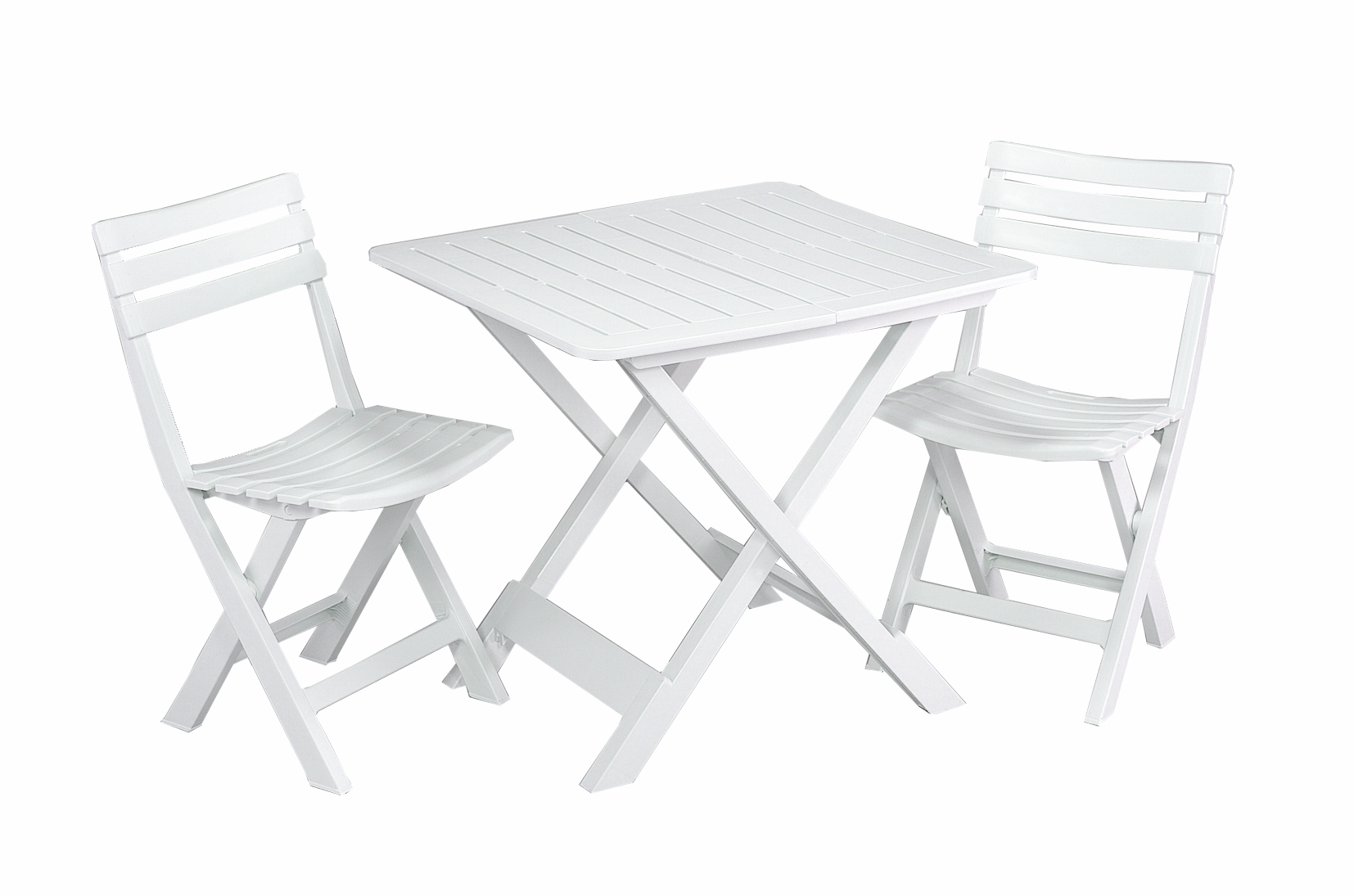 Set Balcon Carrefour Set Balcon 1 Table 43 2 Chaises Blanc Pas