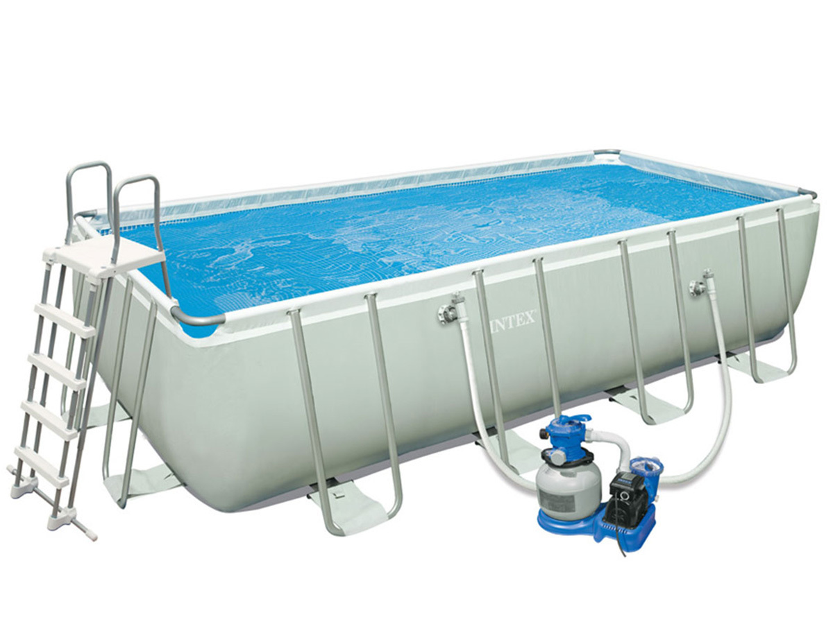 Achat Piscine Intex Intex Piscine Tubulaire Rectangulaire 4 57 X 2 74 X 1