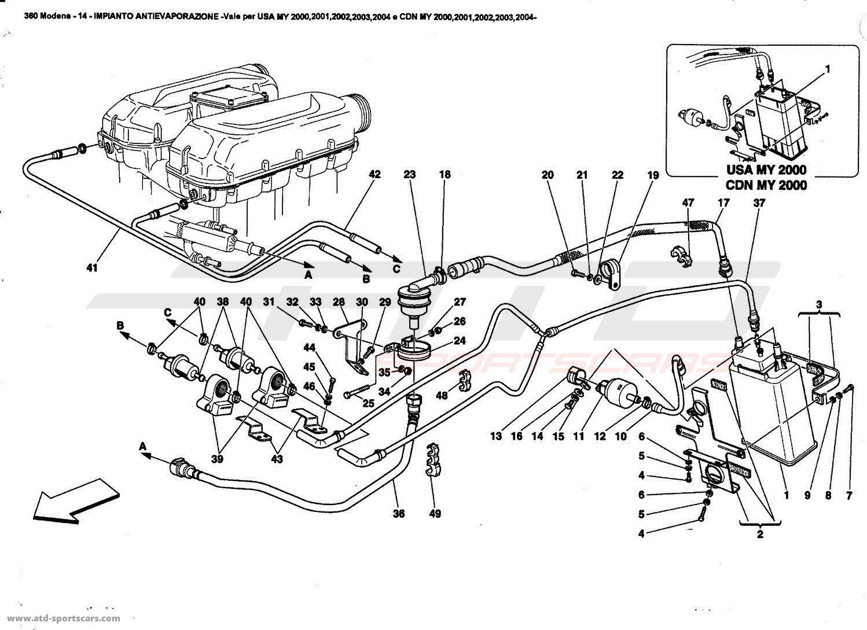 ferrari 250 engine diagram