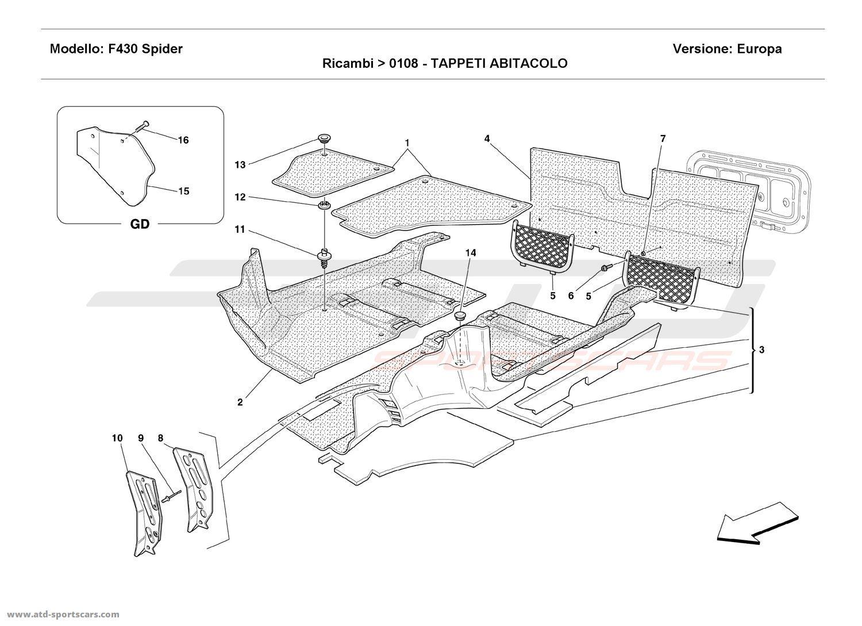 Ferrari 355 Wiring Diagram 308 Gts Auto Diagrams 430