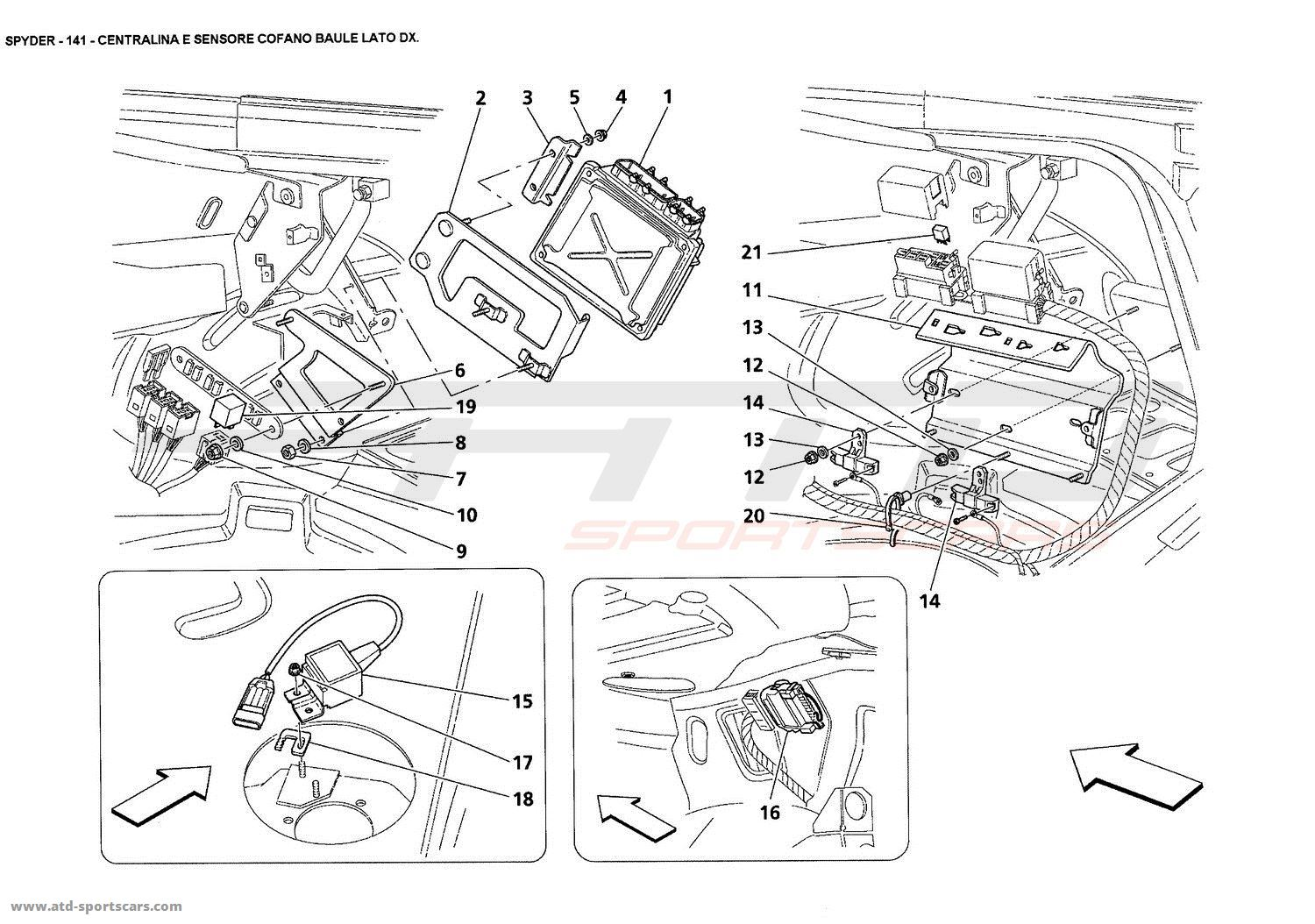 2005 Maserati Wiring Diagram Auto Electrical