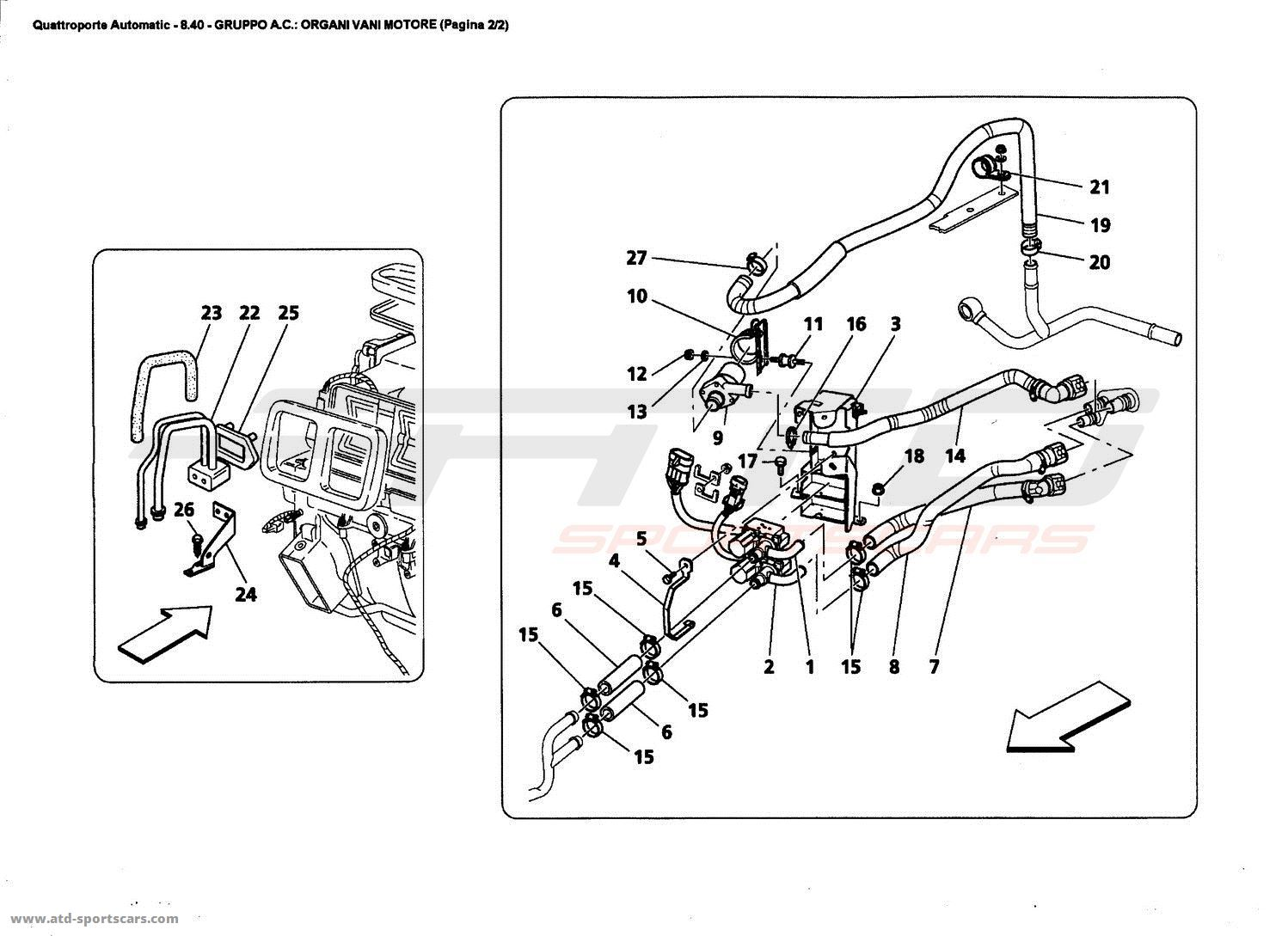 Maserati Spyder Wiring Diagram Simple Circuit Battery Auto Quattroporte Engine Diagrams