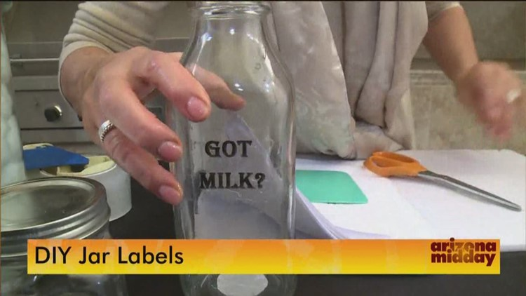Make your own jar labels at home 12news