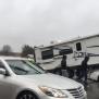 No One Hurt When Car Drives Under Truck Pulling Camper In Va Beach 13newsnow