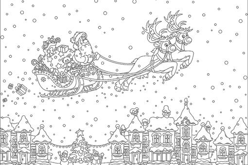 New Year  January Coloring Pages Printable Fun to Help Kids - Culring Pajis