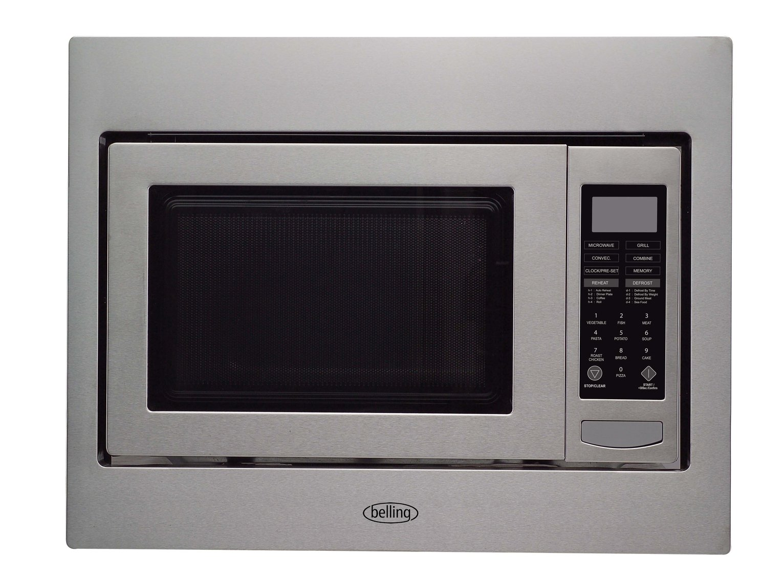 Integrated Microwave Belling Bimw60 Integrated Microwave Stainless Steel