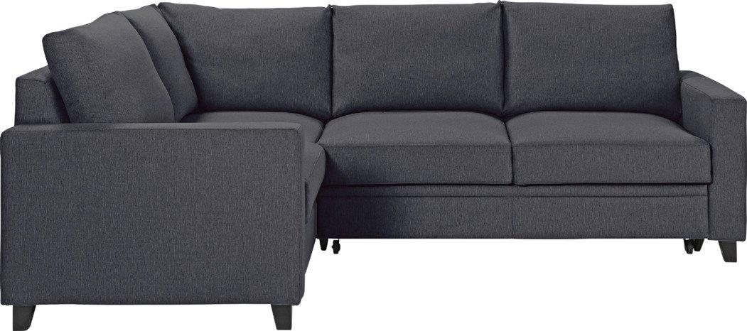 Sale On Hygena Seattle Fabric Left Hand Corner Sofa Bed