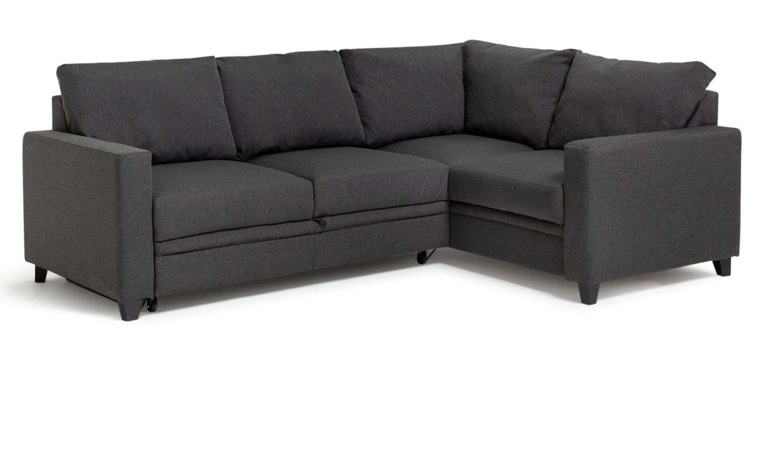 Sale On Hygena Seattle Fabric Right Hand Corner Sofa Bed
