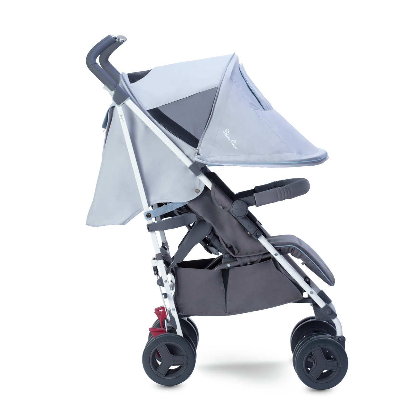 3 Wheel Prams Argos Silver Cross Spark Pushchair Crystal