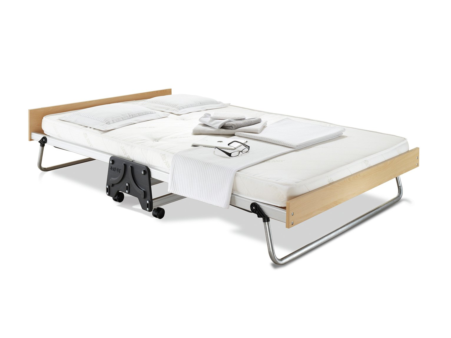 Folding Double Guest Bed With Mattress Ean 5016253000297 Jay Be J Bed Performance Folding Small Double