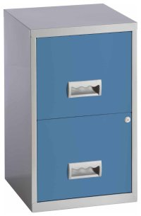 Pierre Henry - 2 Drawer Filing Cabinet - Maya Blue Review