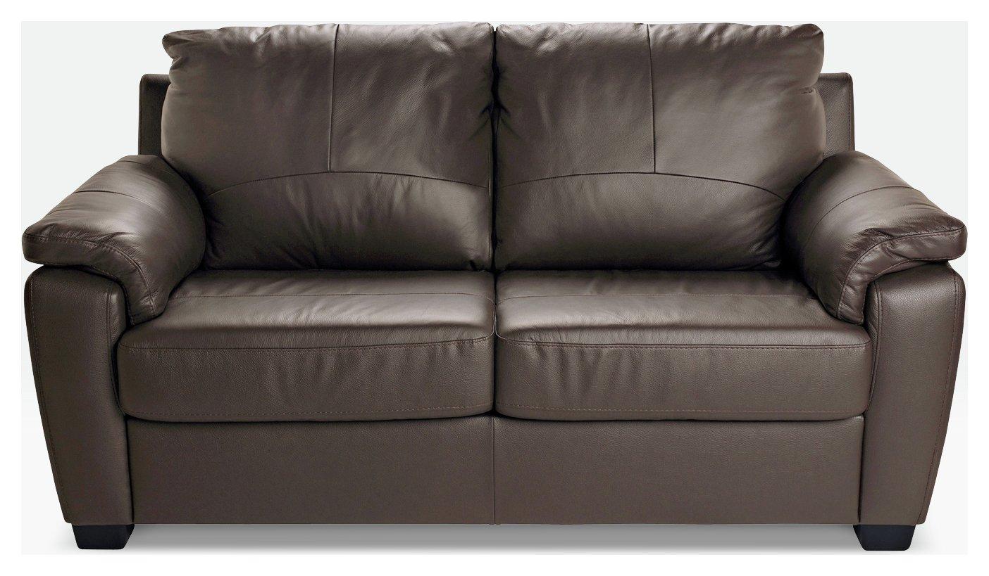 Argos Home Antonio 2 Seater Sofa Bed Chocolate 4148494
