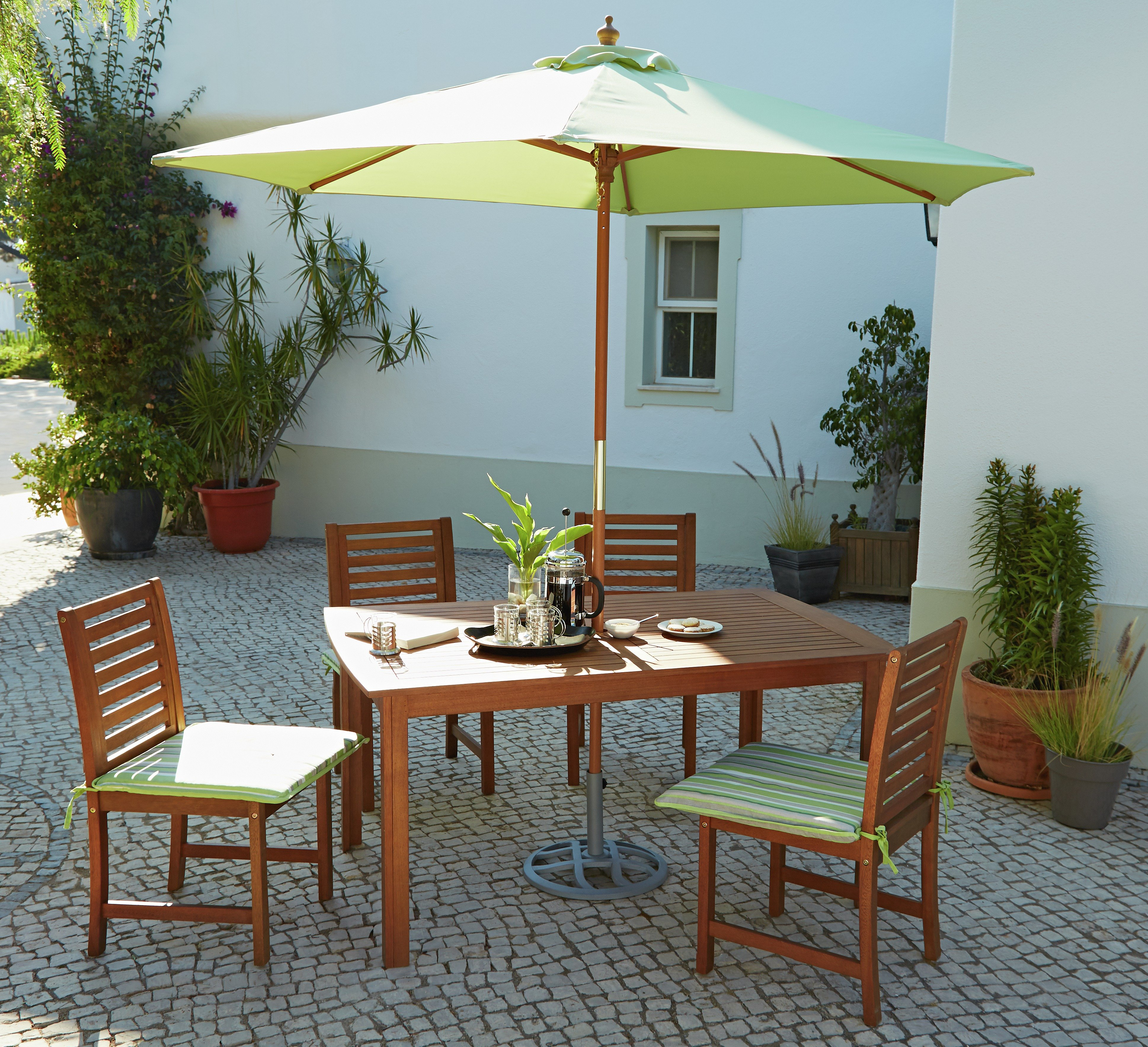 Sale On The Collection Madison 4 Seater Wooden Patio