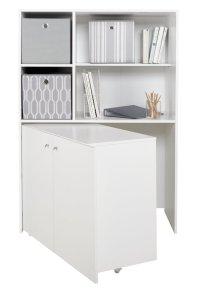 Buy HOME Calgary Hideaway Corner Desk - White at Argos.co ...