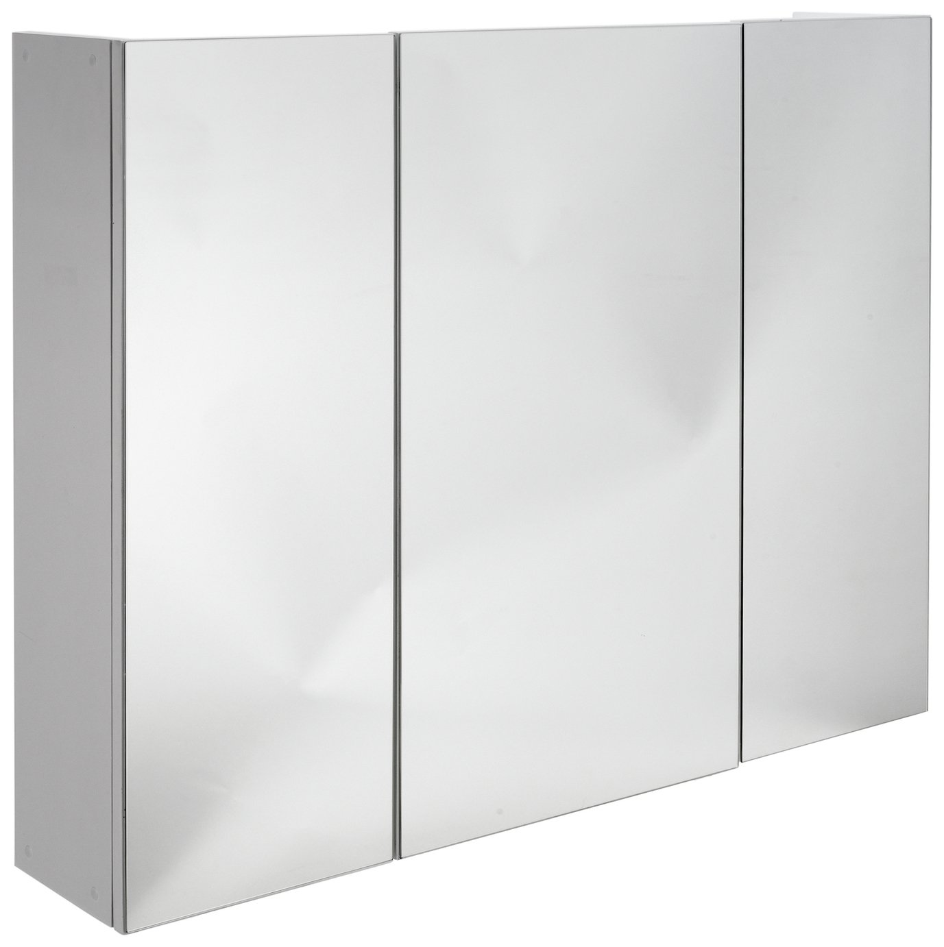 3 Door Mirrored Bathroom Cabinet Argos Home 3 Door Mirrored Bathroom Cabinet 4825470