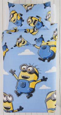 Despicable Me Minions Flocked Chill Chair