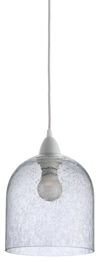 Buy Habitat Liv Bubble Glass Pendant Light Shade at Argos ...