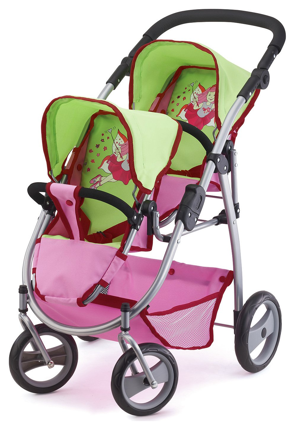 Britax Duo Twin Dolls Buggy Hot Pink Doll Prams And Pushchairs Page 2 Argos Price Tracker