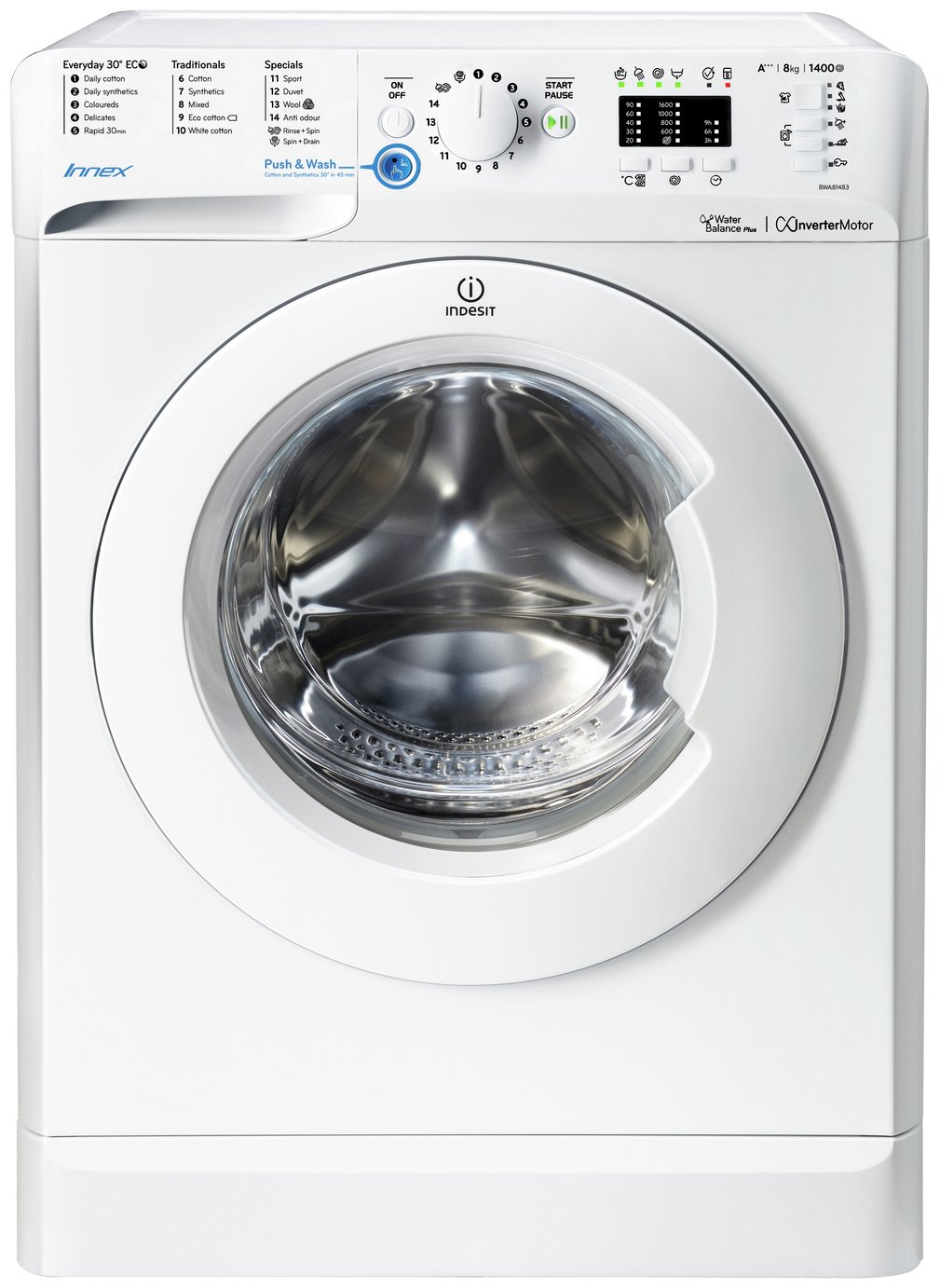 Indesit Iwdc 6125 Compare Prices For Indesit Bwd71453kuk Washing Machine Black