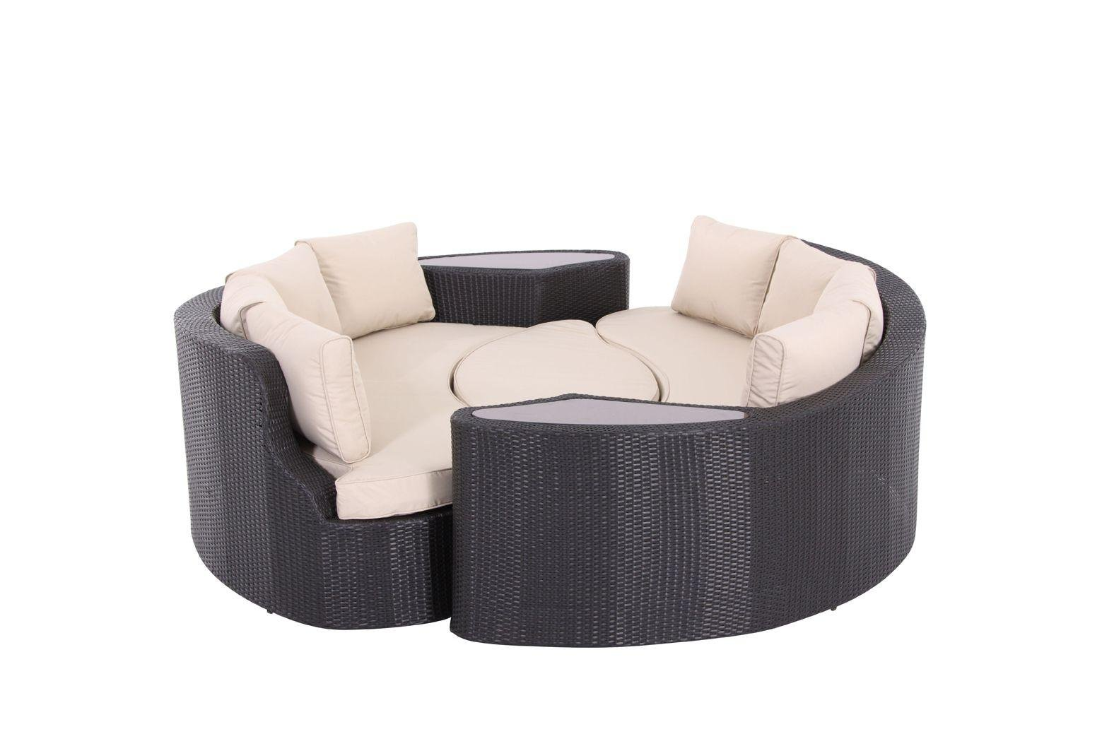 Rattan Effect Recliner Sofa Sale On The Collection Rattan Effect 6 Seater Patio