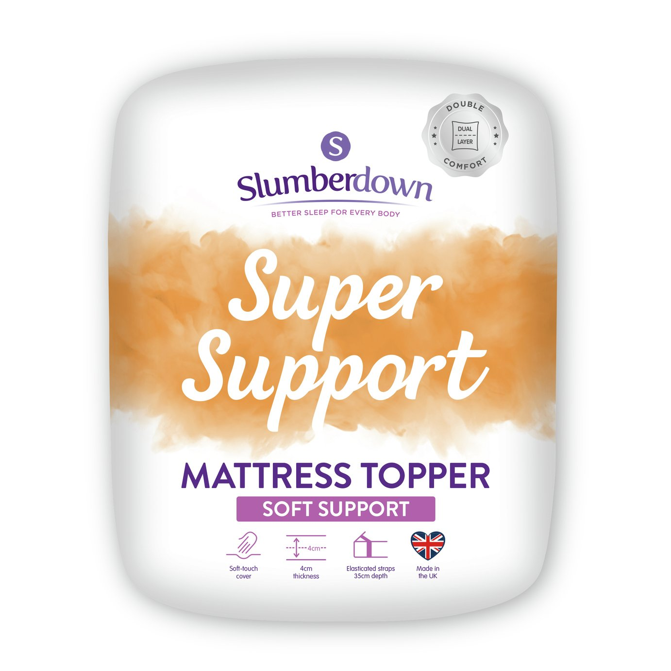 Argos Mattress Topper King Size Slumberdown Support 5cm Mattress Topper Kingsize