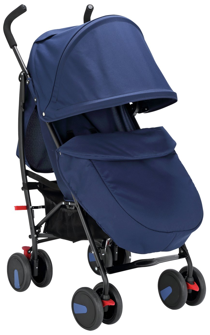 3 Wheel Prams Argos Cuggl Maple Pushchair Navy