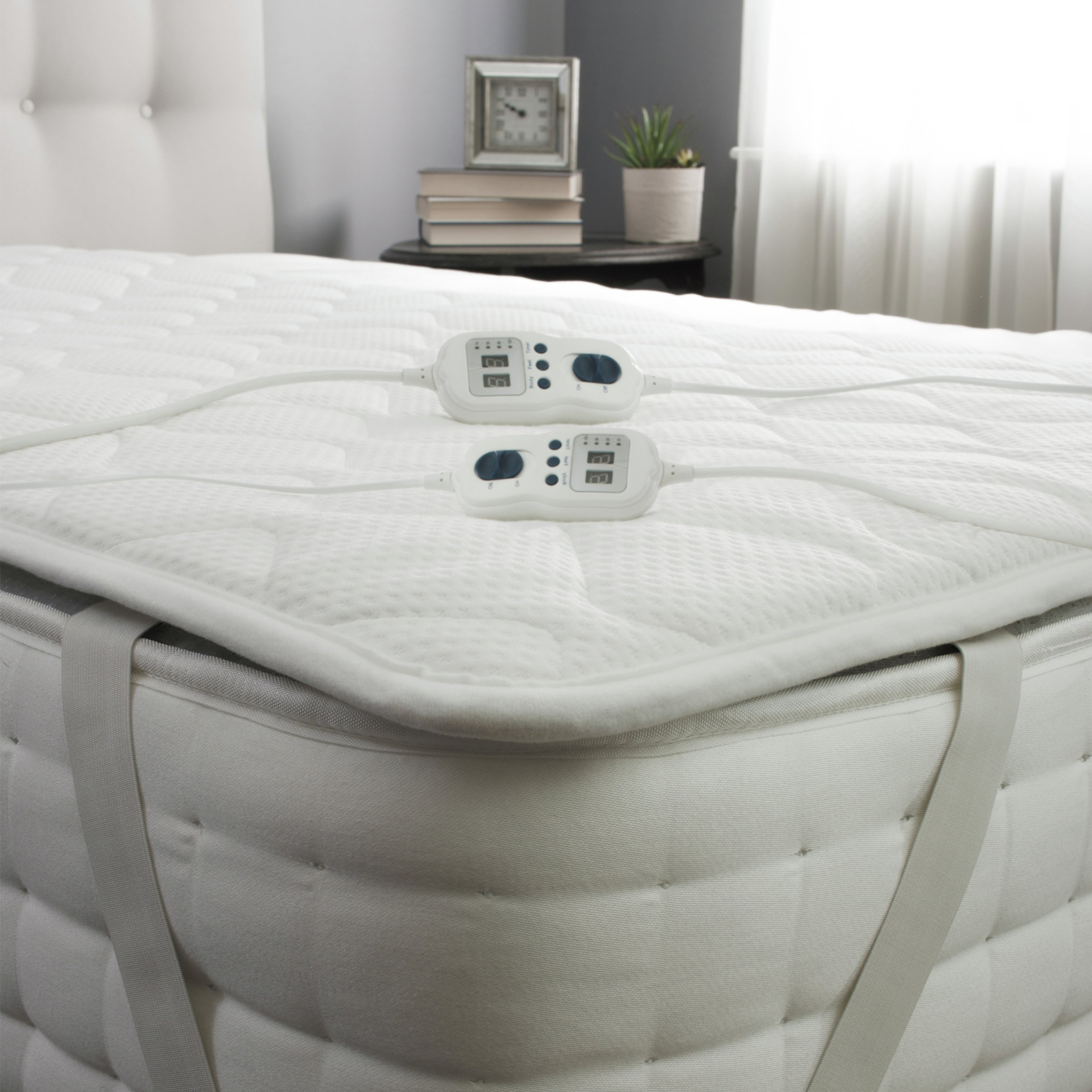 Argos Mattress Topper King Size Silentnight Heated Luxury Foam Mattress Topper Kingsize 7117381