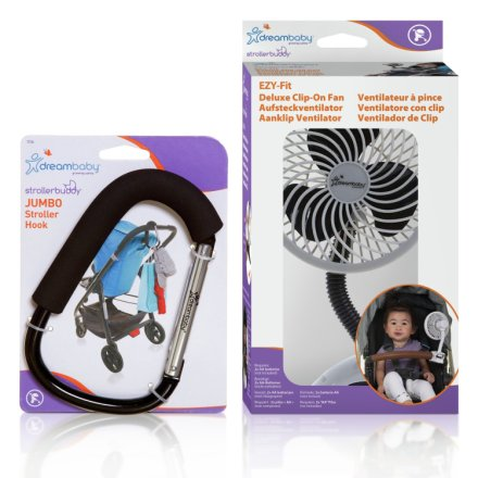 Dreambaby Stroller Fan Reviews Buy Dreambaby Stroller Hook And Fan Set Pushchair Add
