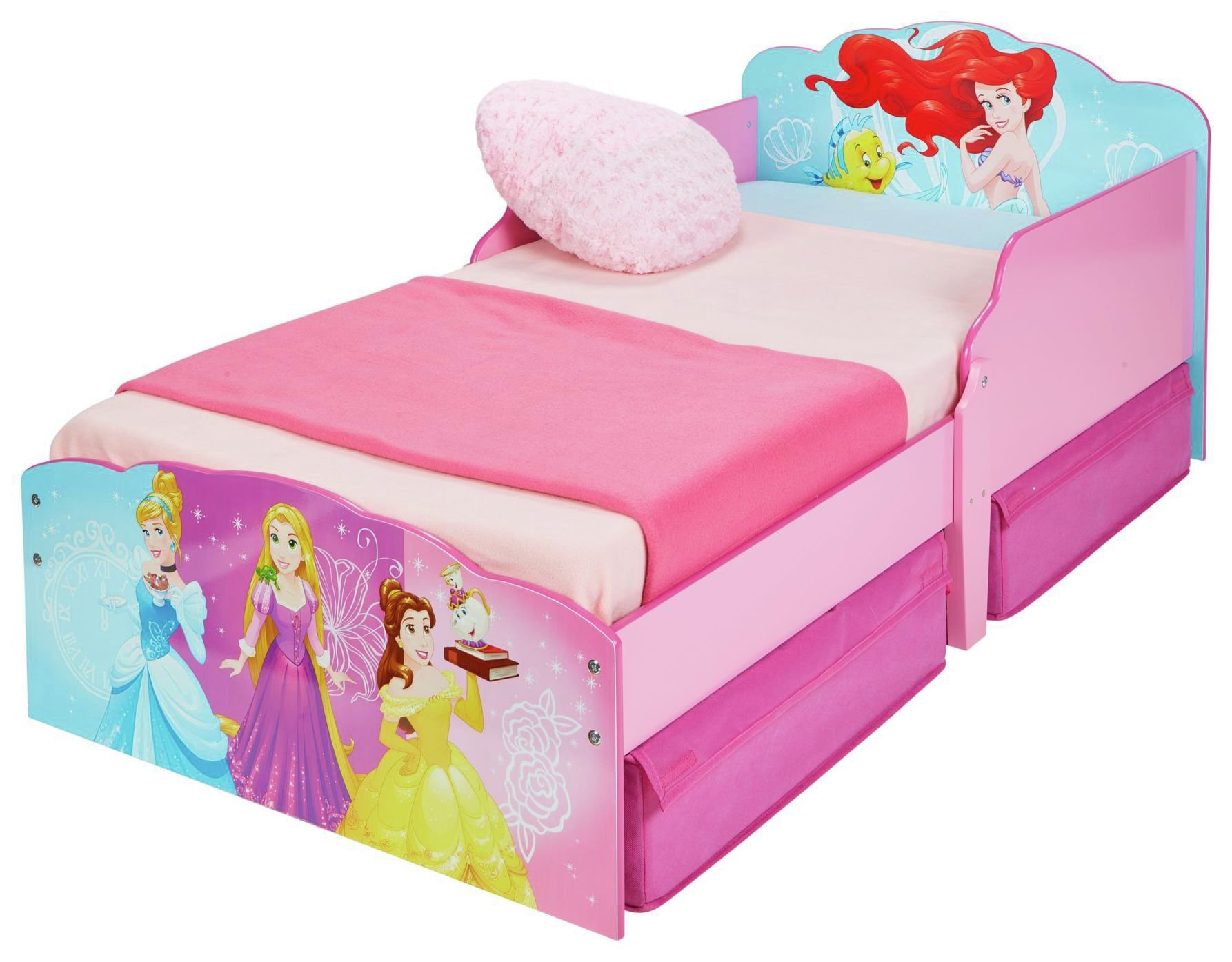 Argos Princess Bed Disney New Princess Toddler Bed With Drawer 7235270 Argos