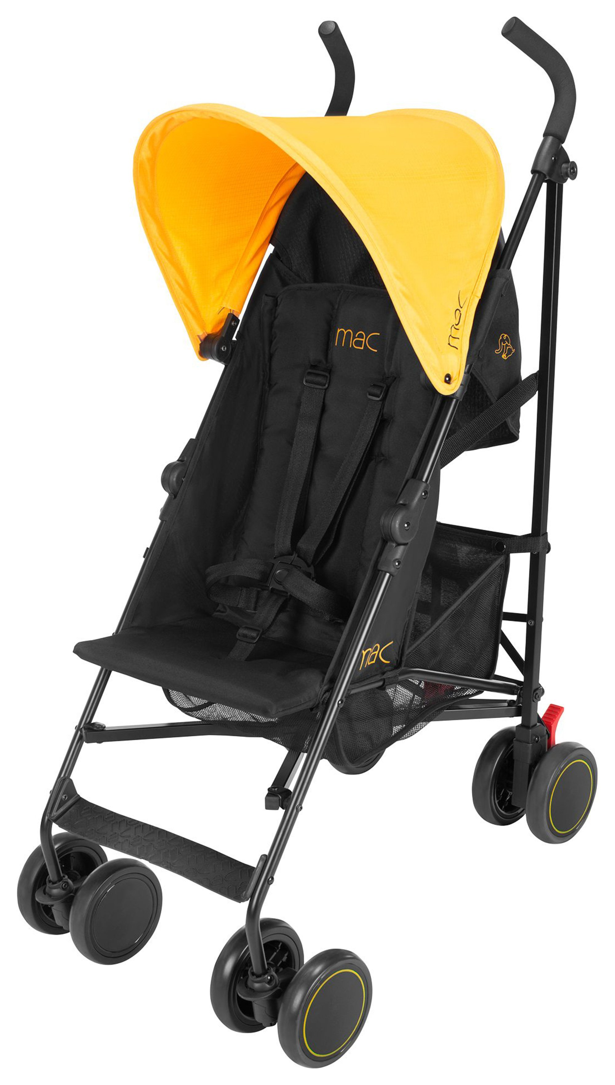 Maclaren Stroller Uk Reviews Mac By Maclaren Black Marigold M1 Pushchair Reviews