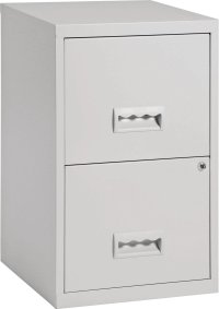 Buy Pierre Henry 2 Drawer Filing Cabinet - Grey | Filing ...