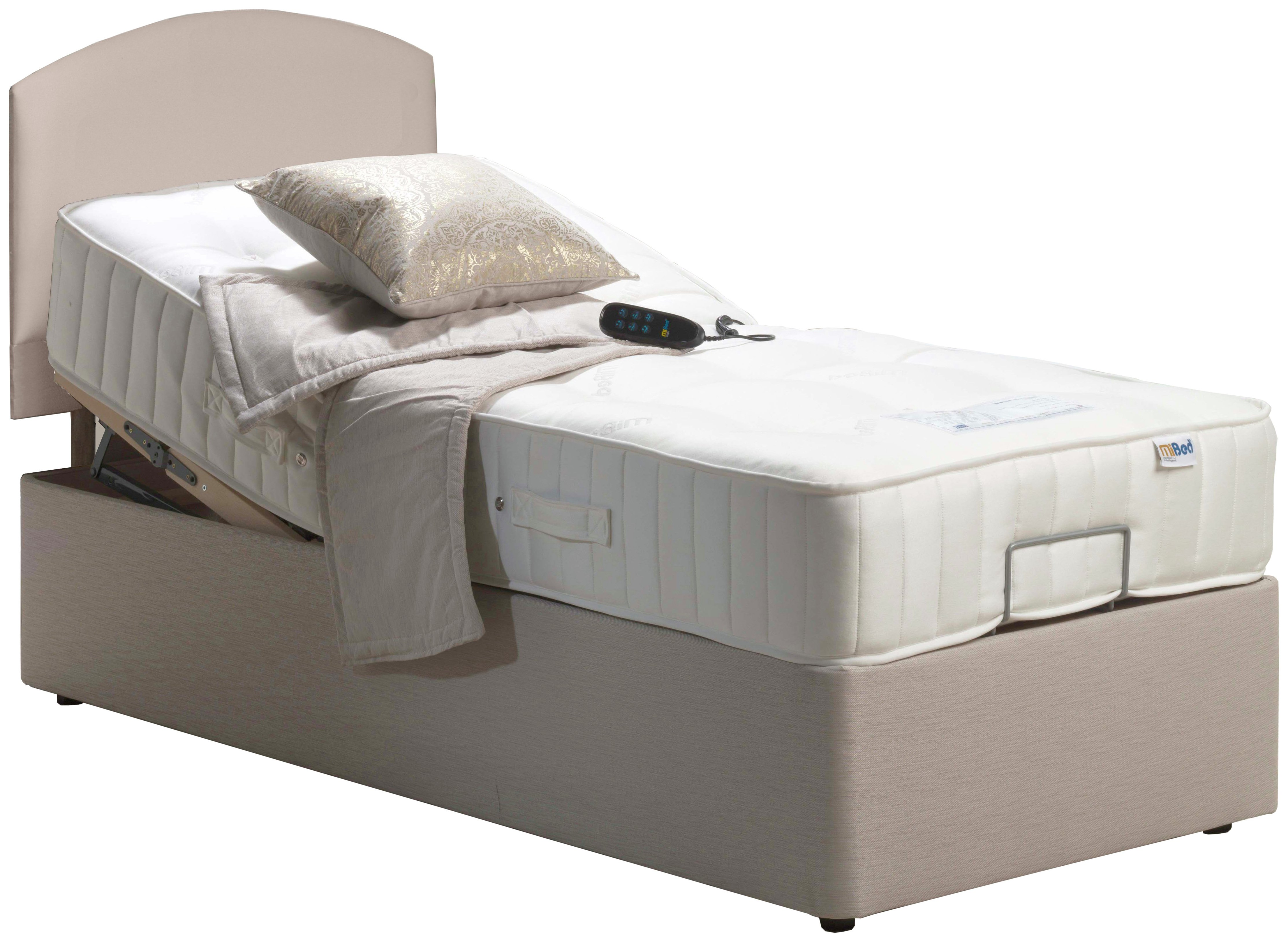 Single Bed Price Mibed Adjustable 3 Newquay Single Bed 7396528 Argos
