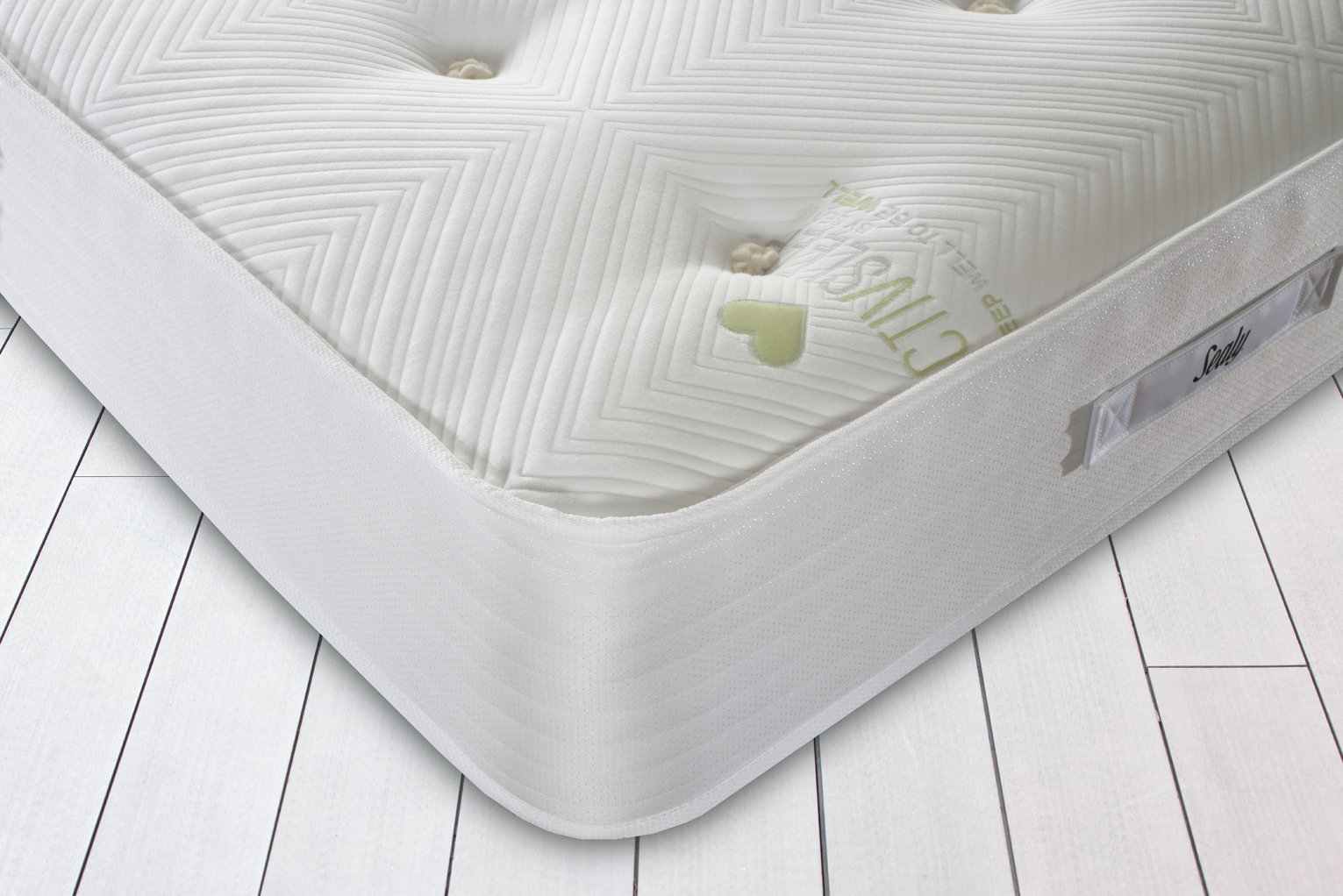 Single Pocket Sprung Memory Foam Mattress Sealy Activ 1800 Pocket Sprung Memory Single Mattress