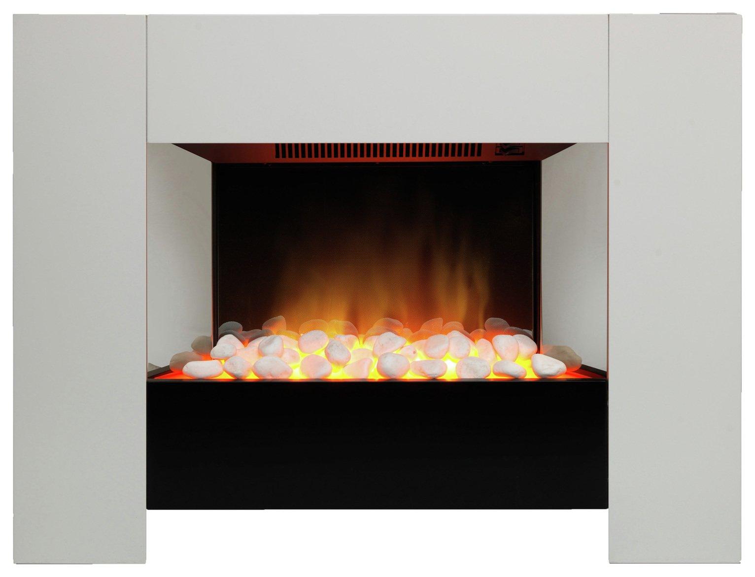 Dimplex Orvieto Compact Oak Electric Fire Suite