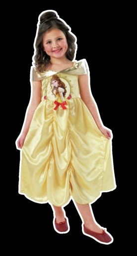 Buy Disney Princess Belle Dress Up Outfit 7 8 Years At