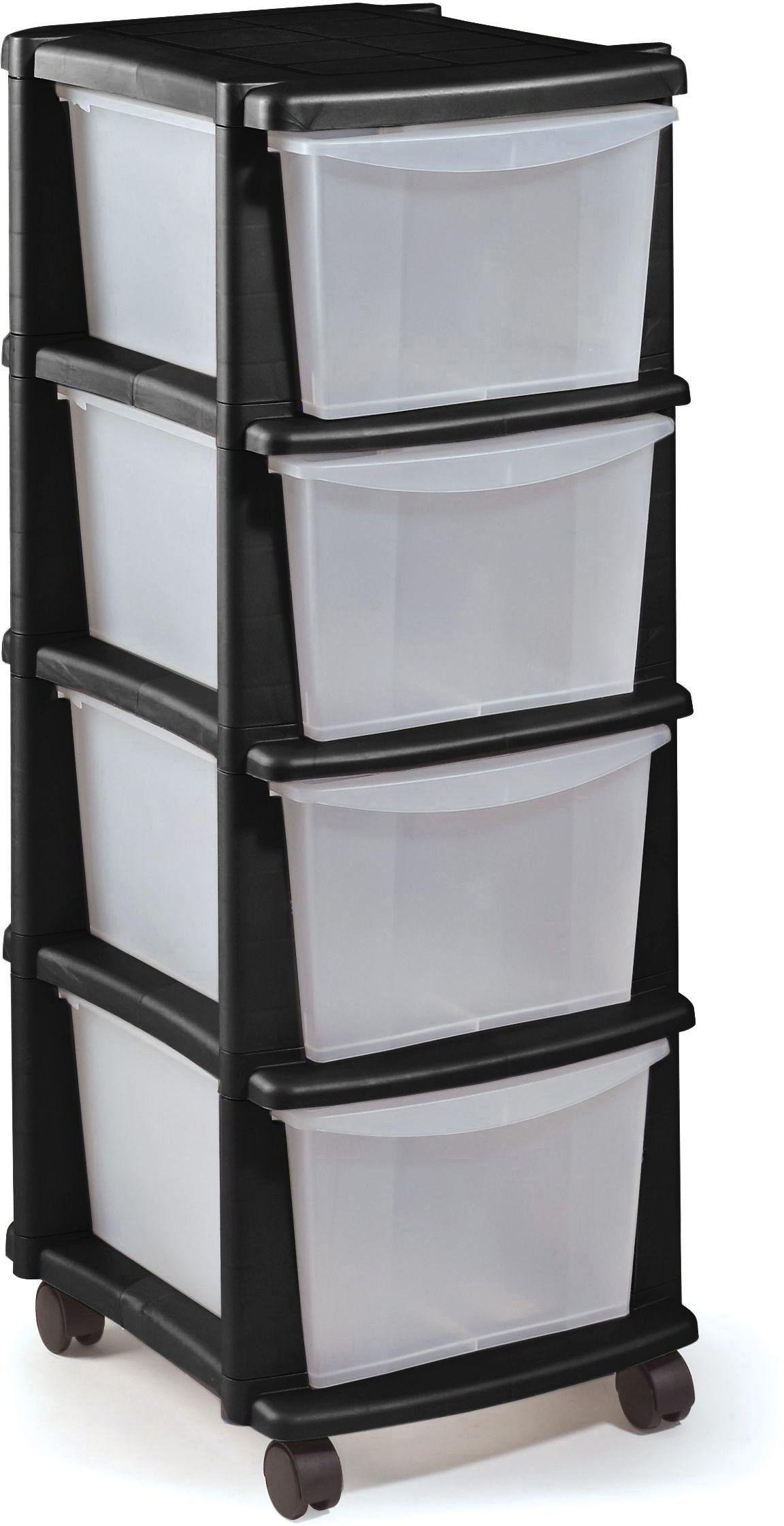 Drawer Units Plastic Drawer Unit Find It For Less