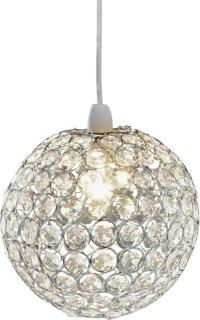 Buy Collection Crystal Globe Shade - Clear | Lamp shades ...