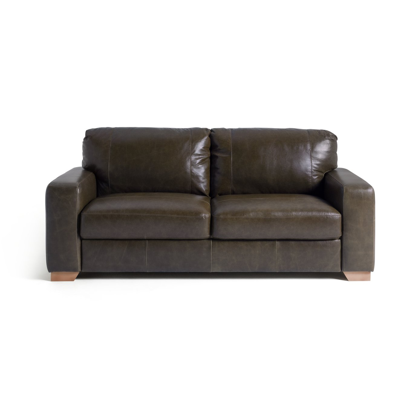 Sofa Settee Argos Buy Argos Home Eton 3 Seater Leather Sofa Dark Brown