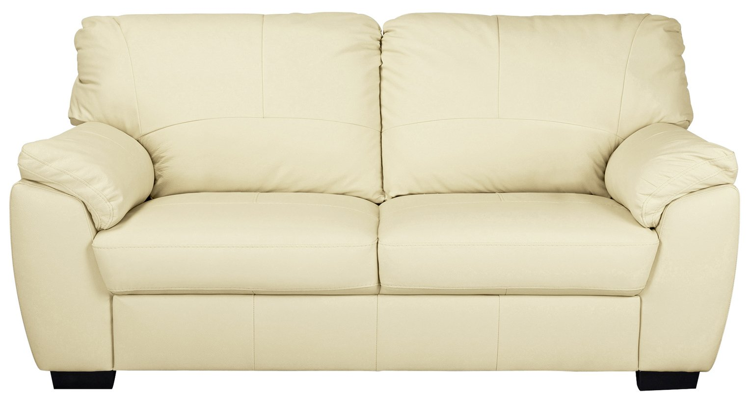 Sofa Settee Argos Buy Argos Home Milano 3 Seater Leather Sofa Ivory Sofas