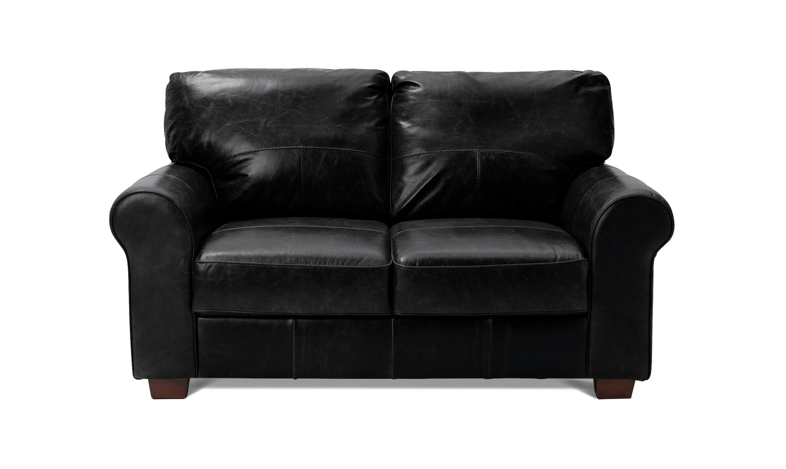 Sofa Settee Argos Buy Argos Home Salisbury 2 Seater Leather Sofa Black