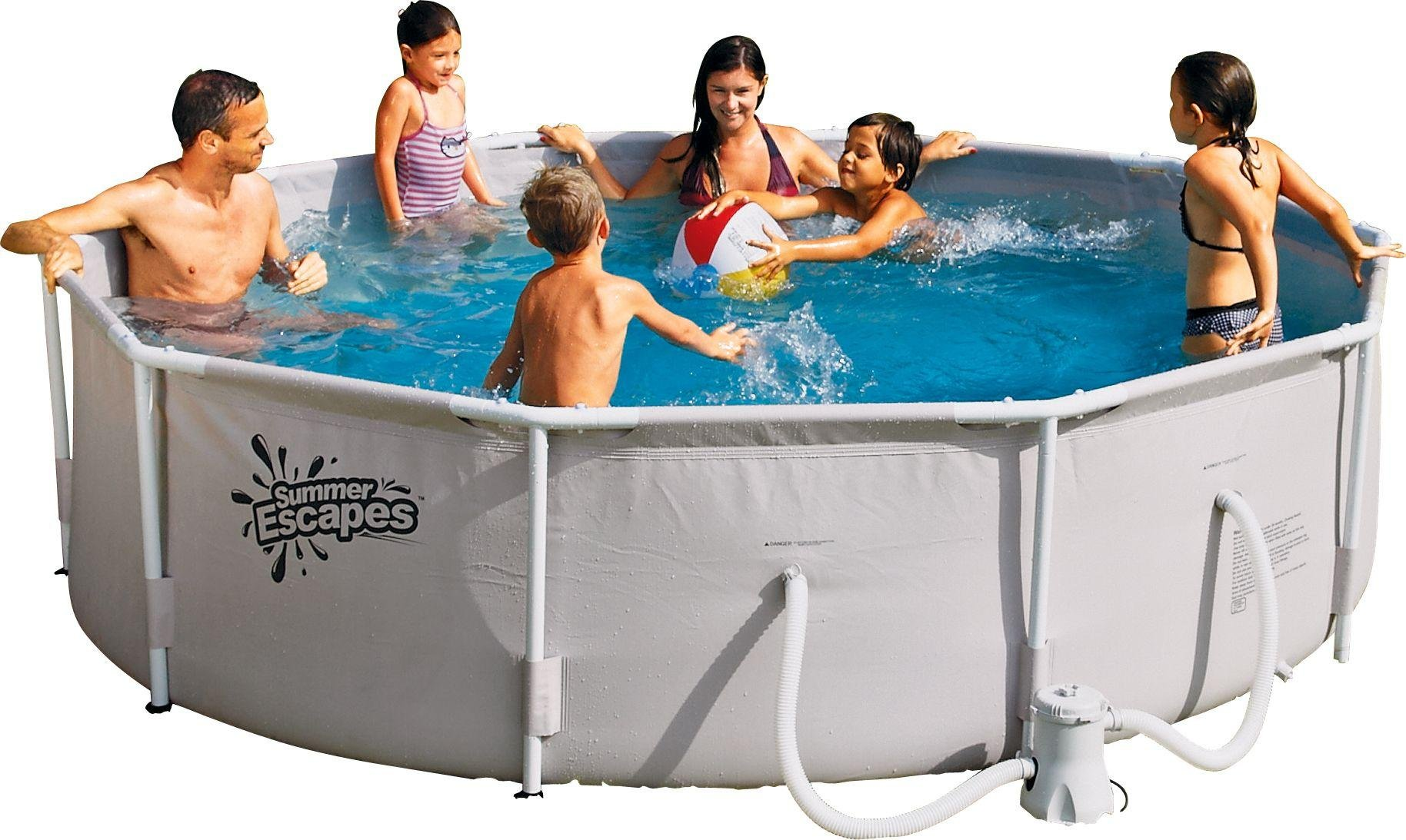 Jacuzzi Pool Argos Buy Summer Waves White Pool 10ft 4 792 Litres Pools And