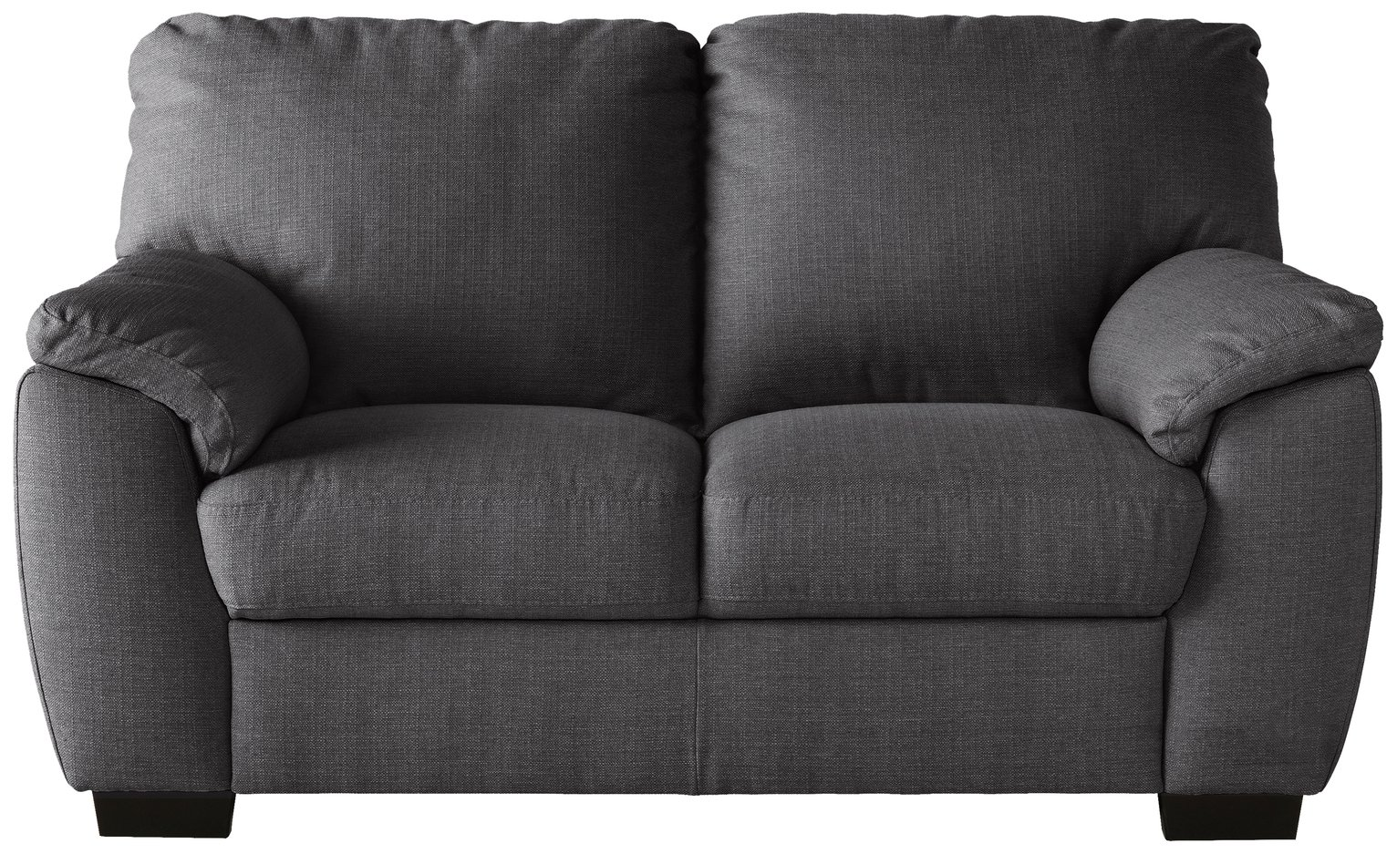 Sofa Settee Argos Buy Argos Home Milano 2 Seater Fabric Sofa Charcoal