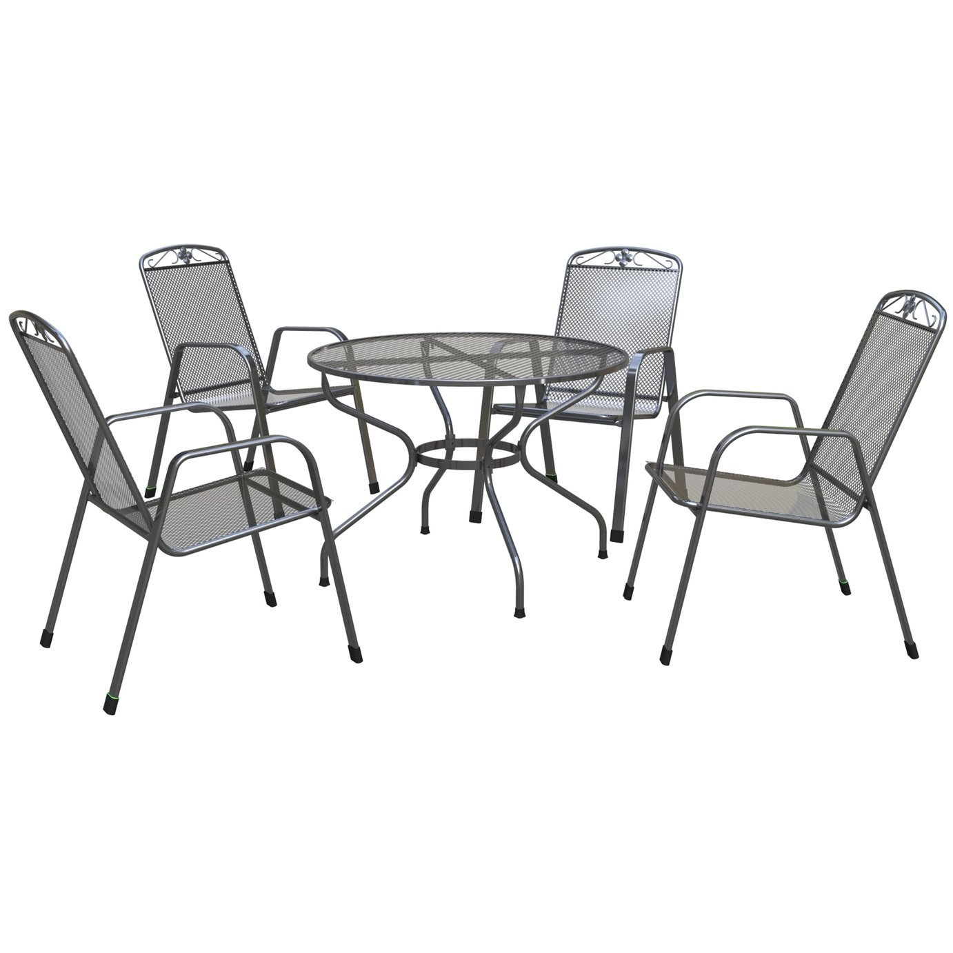 Rubberen Stoeldoppen Free Royal Garden Savoy Table And Chair Set With Royal