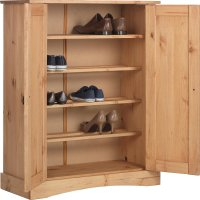 Buy Argos Home Puerto Rico Shoe Storage Cabinet - Antique ...