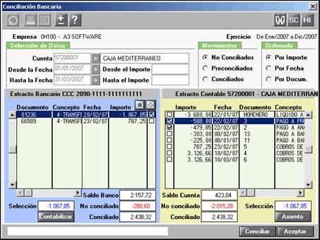 Cómo realizar una conciliciación bancaria