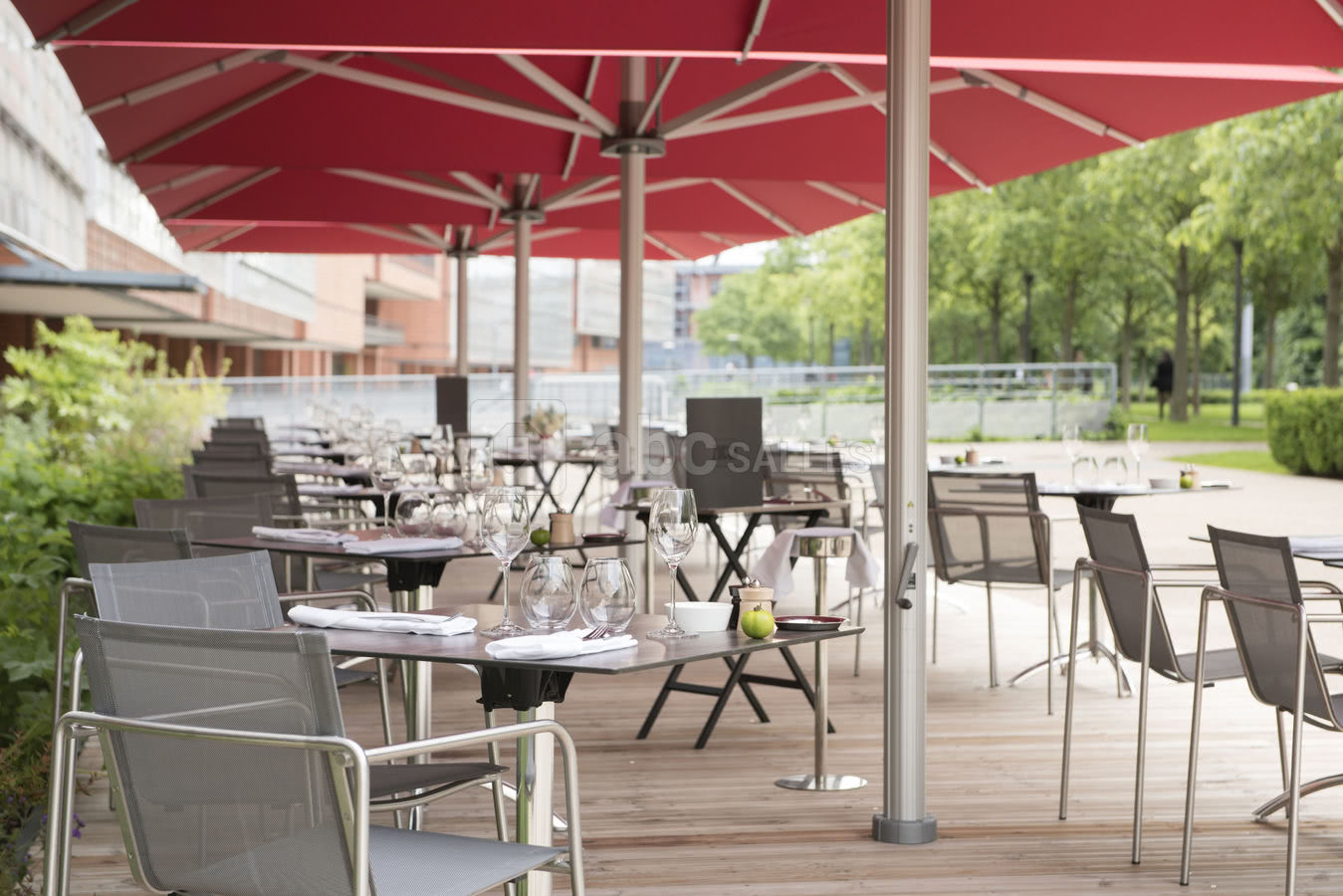 Restaurant En Terrasse Lyon Marriott Lyon Cité Internationale Abc Salles