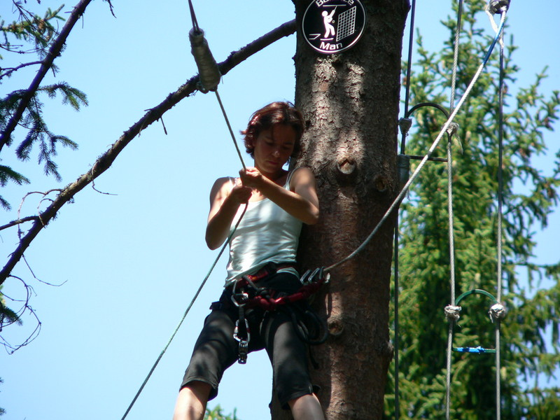 Parcour Aventure Parcours + 16 Ans, Parcours Aventure ,acrobranche - Indian
