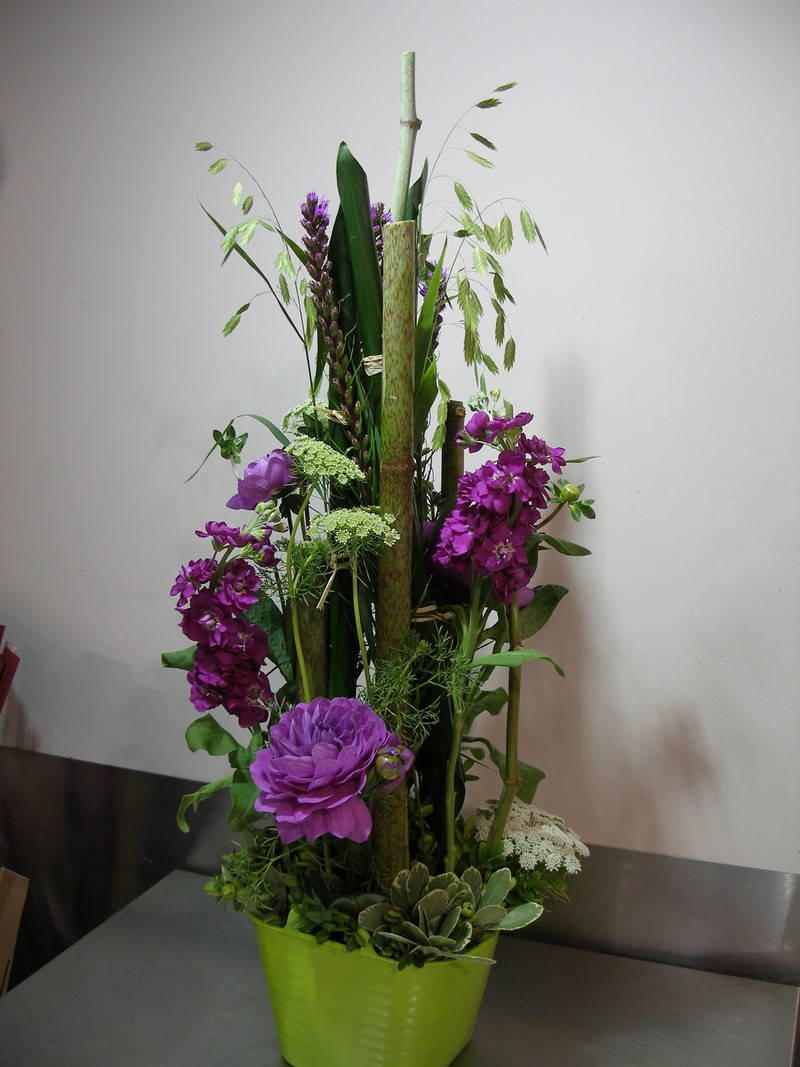 Decoration Mortuaire Cours D'art Floral - Vatry-fleuriste.com