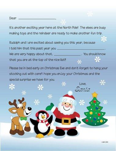 Free Santa Letters via Free N Fun Christmas AL