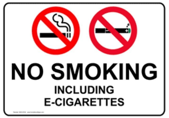 Foley approves ban on e-cigarette use in public places and